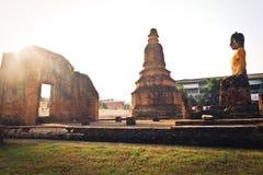 Ancient temple Ayudhaya Royalty Free Stock Image