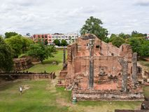 Ancient temple in Ayutthaya Thailand Royalty Free Stock Images