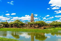 Ancient temple of Ayutthaya, Wat Phra Ram, Thailand Royalty Free Stock Image