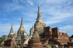 Ancient Temple In Ayutthaya Stock Photos