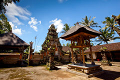 Ancient temple on Bali Royalty Free Stock Photography