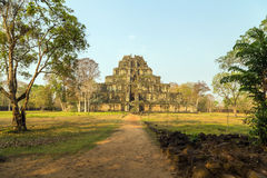 Ancient Temple of Bang Melea, Cambodia Stock Photography