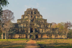 Ancient Temple of Bang Melea, Cambodia Stock Photography