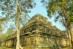 Ancient Temple of Bang Melea, Cambodia Royalty Free Stock Images