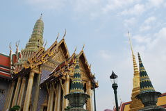Ancient temple in Bangkok Royalty Free Stock Images