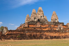 Ancient temple Banteay Kdei in Angkor complex Royalty Free Stock Photography