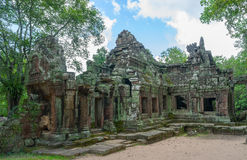 Ancient temple Banteay Kdei. In Cambodia Royalty Free Stock Photography