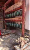 Ancient temple bells Stock Photo
