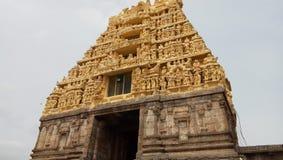Belur Temple. An ancient temple in Belur, Karnataka, India Royalty Free Stock Image