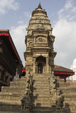Ancient temple in Bhaktapur, Nepal Stock Image