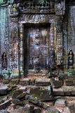 Ancient Temple Blind Doors Royalty Free Stock Photos