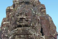 Ancient temple in Cambodia. Stone ancient temple in Cambodia stock image