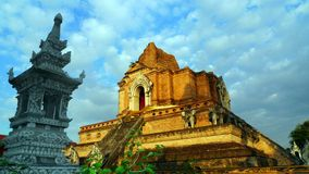 Ancient Temple, Chiang Mai Royalty Free Stock Photos