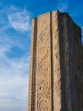 Ancient Temple Column, Melkote, India. Royalty Free Stock Photos