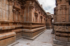 Ancient Temple corridors Stock Images