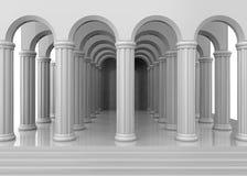 Ancient Temple - 3D Stock Images