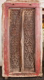 Ancient temple door Royalty Free Stock Images