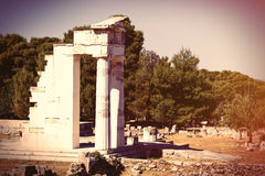 Ancient temple in Greece Royalty Free Stock Image