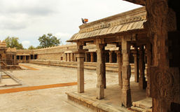 Ancient temple inside Royalty Free Stock Images