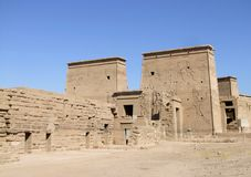 Ancient temple of Isis Royalty Free Stock Photos