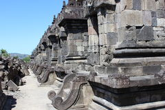 Ancient temple in jogja. Beautiful Ancient temple in jogja Royalty Free Stock Photos