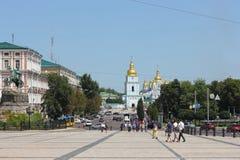 Ancient temple of Kievan Rus' Stock Photos