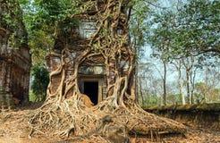 Ancient temple Koh Ke, Cambodia Royalty Free Stock Photography