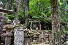 Ancient Temple in Koya San Wakayama Osaka. Koya San Wakayama Osaka - October 2017 - Mount Koya San is the center of Shingon Buddhism, an important Buddhist sect Stock Photography