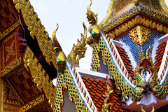 Ancient Temple at Lampang province,Thailand Stock Photo
