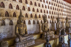 Ancient temple in Laos Stock Photos