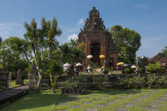 Ancient Temple. An ancient temple located in the heart of  Bali, Indonesia Royalty Free Stock Images