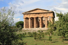 Ancient temple in the Mediterranean Royalty Free Stock Images