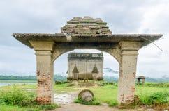Ancient temple Muang Badan (Underwater),Kanchanaburi Province , Thailand Stock Photos