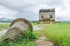 Ancient temple Muang Badan (Underwater),Kanchanaburi Province , Thailand Royalty Free Stock Image