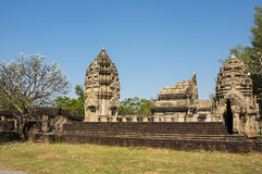 Ancient temple in Mueang Boran Royalty Free Stock Photo