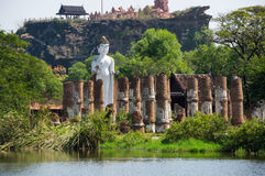 Ancient temple in Mueang Boran Stock Photo
