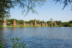 Ancient temple in Mueang Boran Stock Photography
