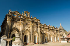 Ancient temple in Myanmar. The ancient great temple in Myanmar Stock Images