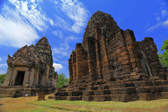 Ancient Temple in Nakhon Ratchasima Royalty Free Stock Image