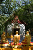 Ancient temple in northern Thailand Stock Photo