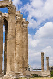 Ancient Temple of Olympian Zeus , Athens, Greece Stock Image