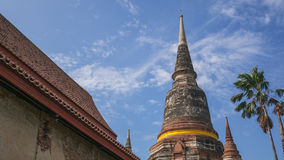 Ancient temple and pagoda Royalty Free Stock Photos
