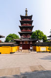 Ancient temple Pagoda Stock Images
