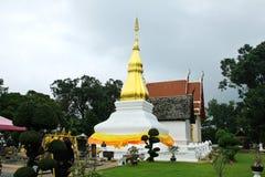 Ancient temple and pagoda in Khon Kaen,Thailand. Royalty Free Stock Photos