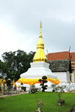 Ancient temple and pagoda in Khon Kaen,Thailand. Stock Images