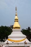 Ancient temple and pagoda in Thailand Royalty Free Stock Photos