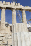 Ancient temple Parthenon in Acropolis Athens Greece Royalty Free Stock Image