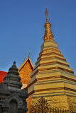 Ancient temple at phae thailand Stock Photos