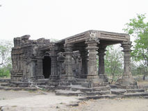 Ancient temple of am. Place - aishwareshwar temple,sinnar in India stock photo