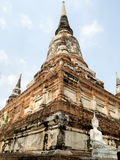 An ancient temple It is a popular tourist destination in Thailand Royalty Free Stock Photography